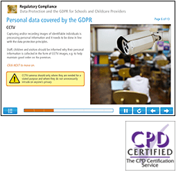 Data Protection and the GDPR for Schools (Level 1) Online Training Course