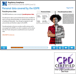 Data Protection and the GDPR (Level 2) Online Training Course